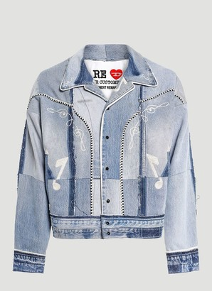 Diesel Red Tag X Readymade Patchwork Denim Jacket