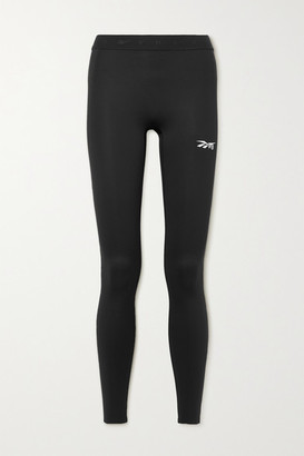 Reebok x Victoria Beckham Printed Stretch Leggings - Black