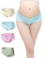 Uniwit® 4 PCS Cotton Maternity Pregnant Mother Panties Lingerie Briefs Underpants