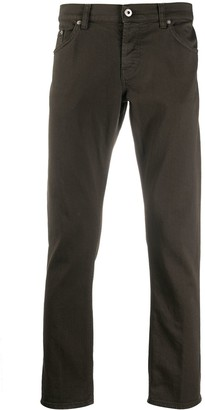 Dondup Low Rise Straight Leg Jeans