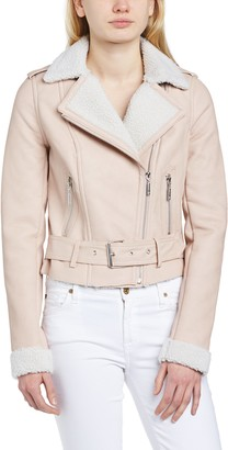 Lipsy Women's Biker Long Sleeve Jacket