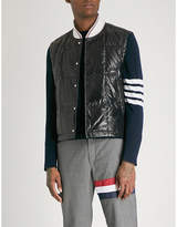 Thom Browne Padded shell down-blend gilet