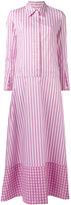 Dondup striped maxi dress - women - Cotton - 42