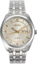 Seiko Men's Automatic Recraft Series Stainless Steel Bracelet Watch 45mm SNKN99