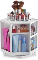 Lori Greiner® Spinning Cosmetic Organizer in White