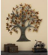AMERICAN HOME Tree of Life 32 in. Wall Sculpture