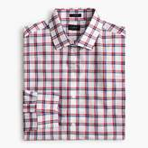 J.Crew Ludlow Slim-fit shirt in red and blue tattersall