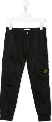 Stone Island Junior straight leg trousers