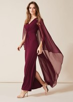 Thumbnail for your product : Phase Eight Edna Cape Maxi Dress