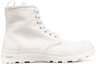 Officine Creative Pallet lace-up boots