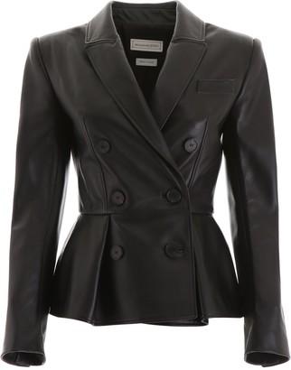 Alexander McQueen Peplum Jacket