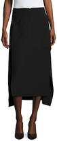 BCBGMAXAZRIA Giana Side Split High Low Skirt