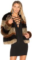 Tularosa Harkin Faux Fur Jacket
