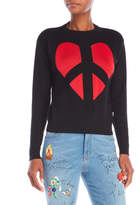 Love Moschino Peace Heart Sweater