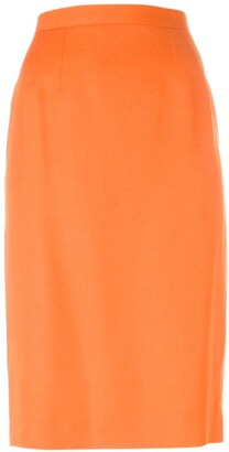 Guy Laroche Pre-Owned classic pencil skirt