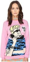 Jeremy Scott Retro Cartoon Sweater Women's Sweater