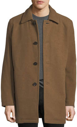 Cole Haan Long Car Coat, Beige
