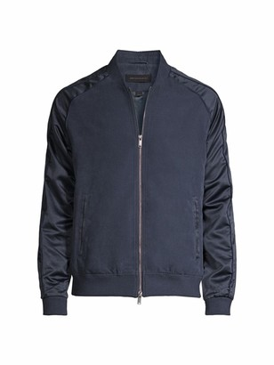 John Varvatos Satin Souvenir Jacket