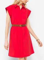 Michael Kors Cotton-Poplin Shirtdress
