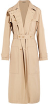 Bottega Veneta Woven Silk Trench Coat - IT42
