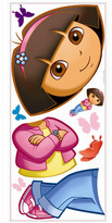 Nickelodeon Room Mates Favorite Characters 9 Piece Dora The Explorer Giant Wall Decal Set