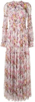 Needle & Thread Floral Print Maxi Dress