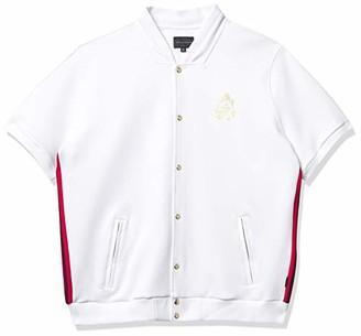 Sean John Men's Short Sleeve Track Jacket