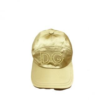 Dolce & Gabbana Gold Cloth Hats