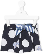 Lapin House - polka dots elasticated shorts - kids - Cotton/Spandex/Elastane - 18 mth