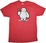 JCPenney Novelty T-Shirts Baymax Lollipop Graphic Tee