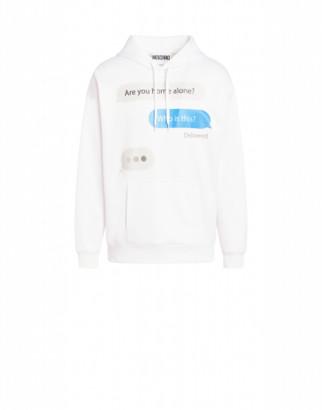 Moschino Chat Jersey Sweatshirt