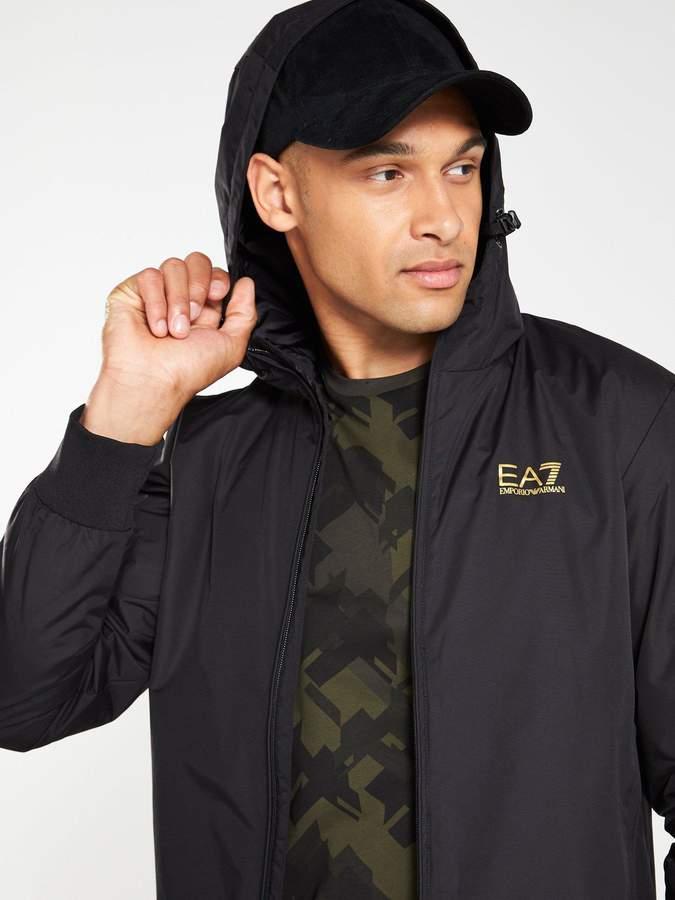 a169ece6 Ea7 EA7 Core ID Hooded Jacket - Black