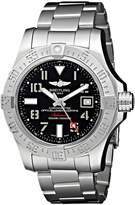 Breitling Men's BTA1733110-BC31SS Avenger II Seawolf Analog Display Swiss Automatic Silver Watch