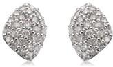 Monica Vinader Women's Nura Mini Diamond Stud Earrings