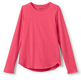 Classic Girls Aline Solid Knit Tee-Light Begonia