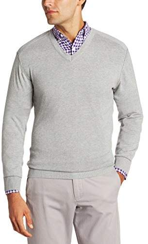 Cutter & Buck Men's Broadview V-Neck Sweater