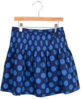 Jacadi Girls' Polka Dot Skirt