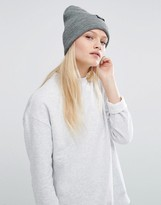 Cheap Monday Gray Marl Knitted Beanie