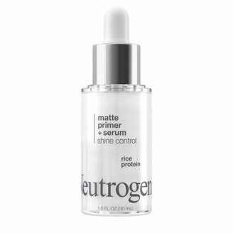 Neutrogena Shine Control Matte Booster Face Primer & Serum Skin-Mattifying Serum-to-Primer with Rice Protein Absorbs Excess Oil & Keeps Skin Shine Free 1.0 fl. Oz