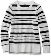 L.L. Bean Soft Tape-Yarn Sweater, Pullover Stripe
