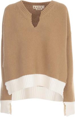 Marni V Neck L/s Sweater