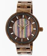 Earth Wood Root Bracelet Watch.