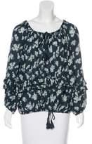 Denim & Supply Ralph Lauren Floral Ruffled Top w/ Tags