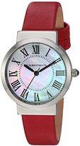 Cabochon Women's 1301S-05 Sophistique Analog Display Swiss Quartz Red Watch