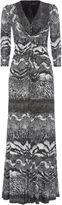 House of Fraser ANOUSHKA G Eliana Print Jersey Maxi Dress