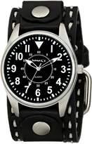 Nemesis Men's 095KDST Unique Series Analog Display Japanese Quartz Brown Watch