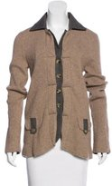 Etro Button-Up Wool Cardigan