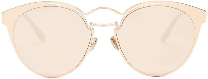 Christian Dior Nebula cat-eye metal sunglasses