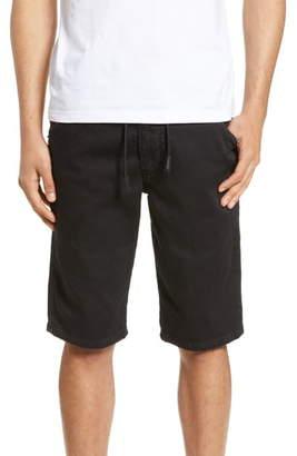 Diesel Krooshort Stretch Cotton Blend Jogger Shorts