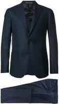 Eleventy stitch detail suit